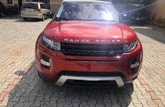 Tokunbo Land Rover Range Rover Evoque 2015 Model Red