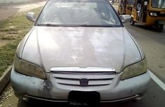 Nigeria Used Honda Accord 2003 Model Silver