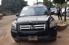 Nigeria Used Honda Pilot 2006 Model Black