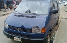 Nigeria Used Volkswagen Transporter 1998 Model Blue