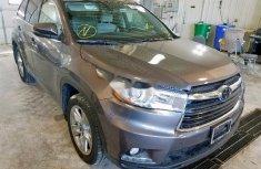 Tokunbo Toyota Highlander 2015 Model Gray