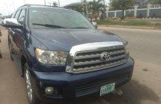 Nigeria Used Toyota Sequoia 2010 Model Blue