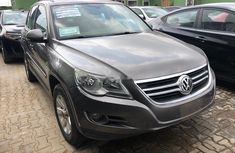 Nigeria Used Volkswagen Tiguan 2010 Model Gray