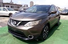 Nigeria Used Nissan Qashqai 2015 Model Gray