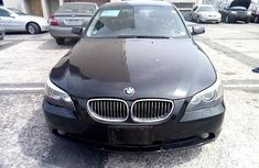 Nigeria Used BMW 5 Series 2006 Model Black