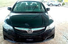 Nigeria Used Honda Civic 2009 Model Black