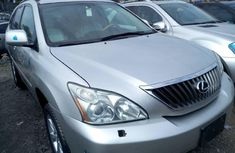 Foreign Used Lexus RX 2009 Model Silver