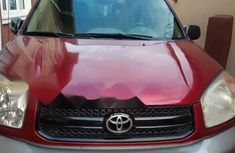 Foreign Used Toyota RAV4 2004 Model Red