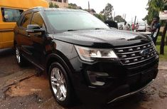 Tokunbo Ford Explorer 2016 Model Black