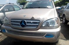 Foreign Used Mercedes-Benz ML 320 2003 for sale
