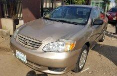 Nigerian Used Toyota Corolla 2004 for sale
