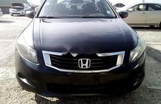 Nigeria Used Honda Accord 2010 Model Black