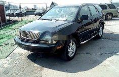 Nigerian Used Lexus RX 2000 Petrol Automatic Black