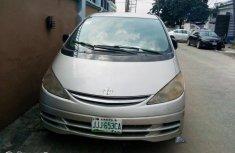 Nigeria Used Toyota Previa 2000 Model Silver