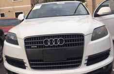 Audi Q7 2008 Model Foreign Used White for Sale