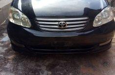 Neat Nigerian used Toyota Corolla Sport 2004