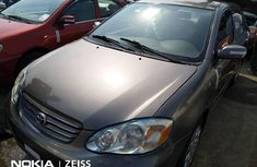 Very Clean Foreign used Toyota Corolla 2004