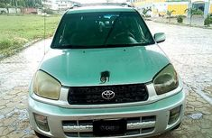 Nigerian Used 2002 Toyota RAV4 for sale