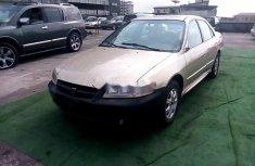 Nigeria Used Honda Accord 2002 Model Gold