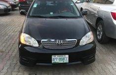 Nigerian Used Toyota Corolla 2004