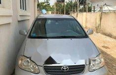 Nigerian Used 2006 Toyota Corolla Petrol Automatic