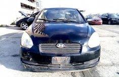 Nigeria Used Hyundai Accent 2006 Model Black