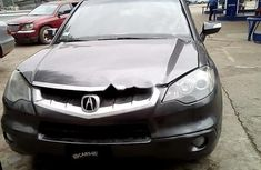Nigeria Used Acura RDX 2009 Model Gray