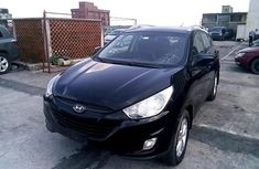 Nigeria Used Hyundai ix35 2012 Model Black