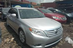 Foreign Used Toyota Avalon 2012 Model Silver