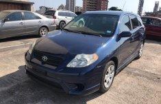 Nigeria Used Toyota Matrix 2006 Model Blue