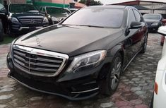 Nigeria Used Mercedes-Benz S-Class 2014 Model Black