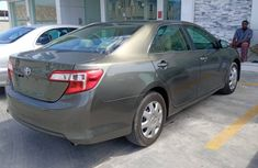 Foreign Used Toyota Camry Gray Sedan 2013 Model