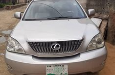 Used Lexus RX 330 Nigerian Used Silver 2006 Model