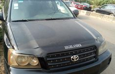 Toyota Highlander 2003 Model Nigeria Used Black