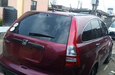 Honda CR-V 2008 Model Foreign Used Red for Sale