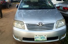 Nigeria Used Toyota Corolla 2005 Model Silver for Sale