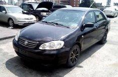Neat Nigerian used Toyota Corolla 2002