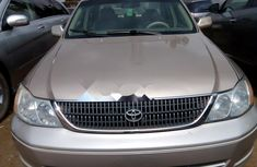 Foreign Used Toyota Avalon 2003 Model Gold