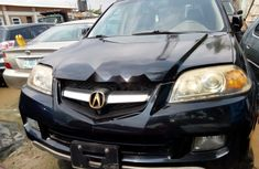 Foreign Used Acura MDX 2004 Model Black