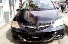 Nigeria Used Honda City 2008 Model Black