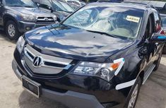 Acura MDX 2008 Model Foreign Used Black for Sale