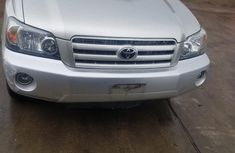 Toyota Highlander SUV Foreign Used 2006 Model Silver