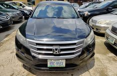 Honda Accord Crosstour 2011 Model Nigeria Used Black