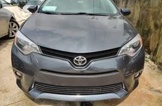 Used Toyota Corolla Foreign 2015 Model Gray for Sale