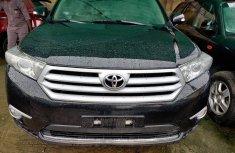 Toyota Highlander SUV Nigeria Used 2016 Model Black