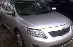 Foreign Used Toyota Corolla 2010 Gray Sedan