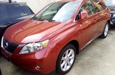 Foreign used Lexus RX350 2012 model for sale.