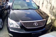 Lexus RX 350 2008 Model Foreign Used Black for Sale