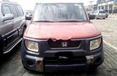 Nigeria Used Honda Element 2005 Model Red