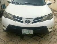 Clean Nigerian used 2013 Toyota RAV4